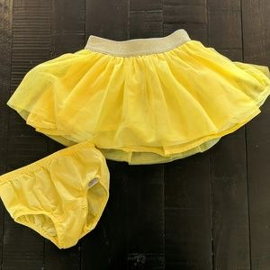 Baby GAP tutu and matching diaper cover